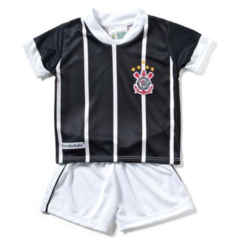 Conjunto Uniforme Toddler do  Corinthians (até 2 anos) - 031SS