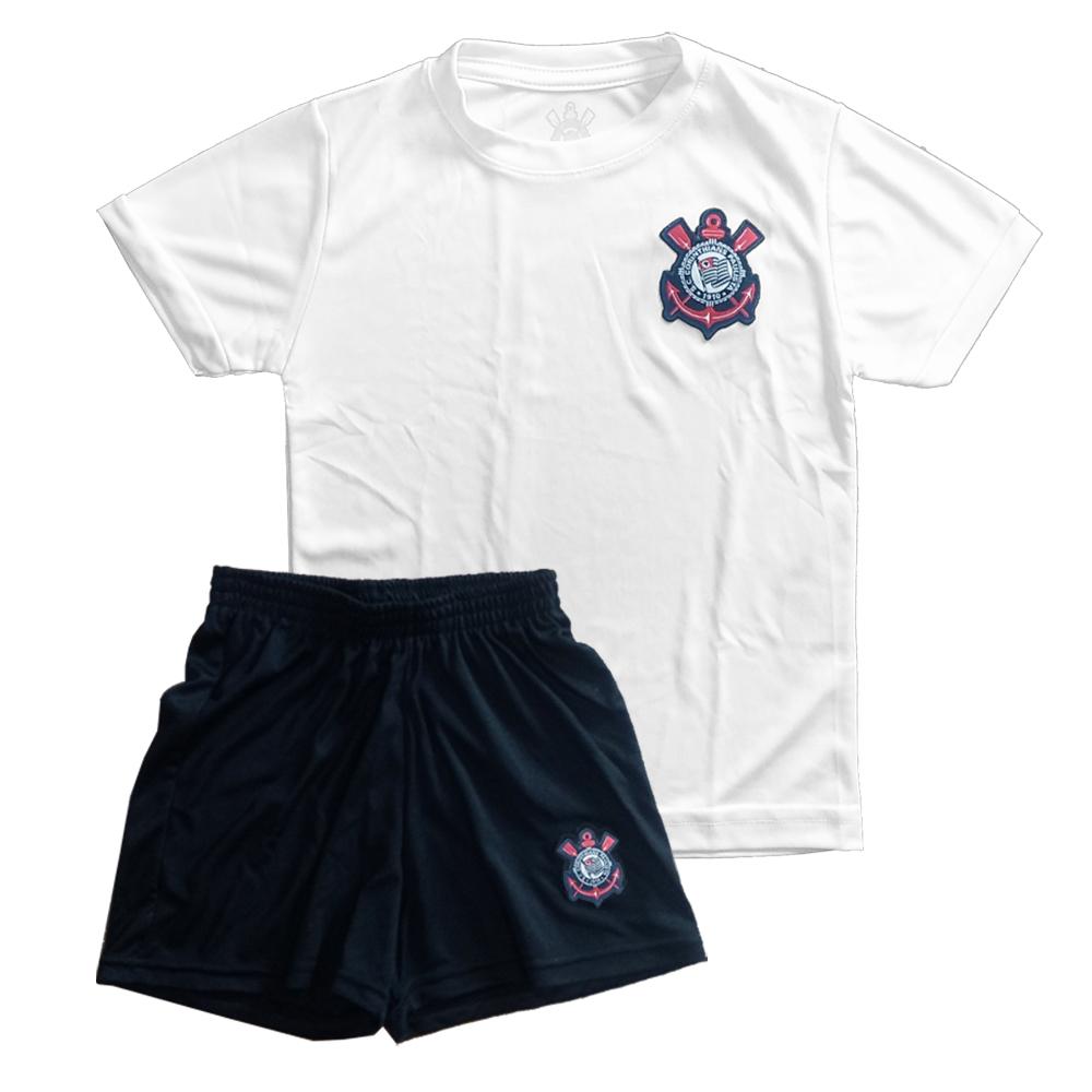 Conjunto Uniforme Infantil do Corinthians - 924001