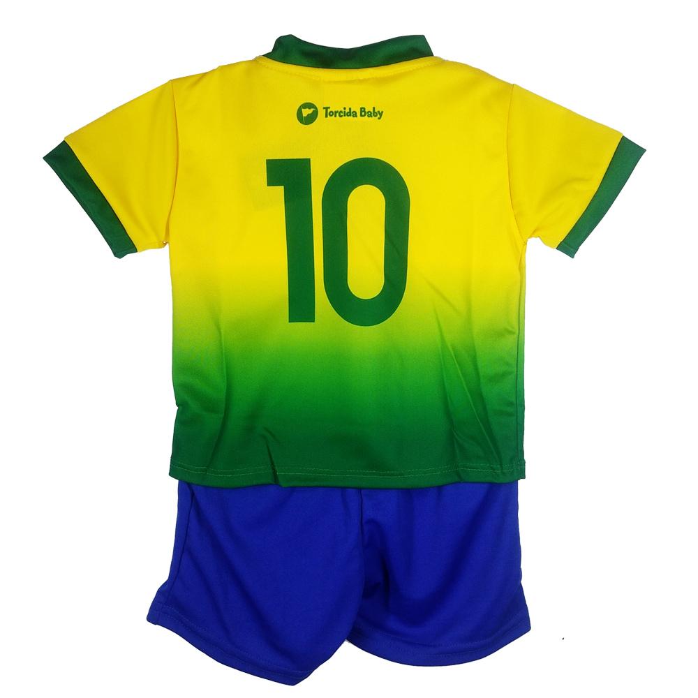 Conjunto Uniforme para Bebê do Brasil - 031S