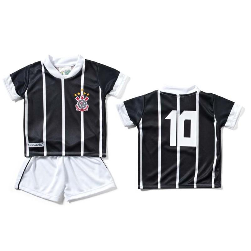 Conjunto Uniforme para Bebê do Corinthians - 031S