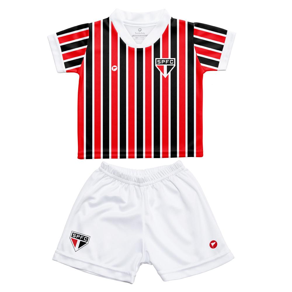 Conjunto Uniforme para Bebê do São Paulo - 031S