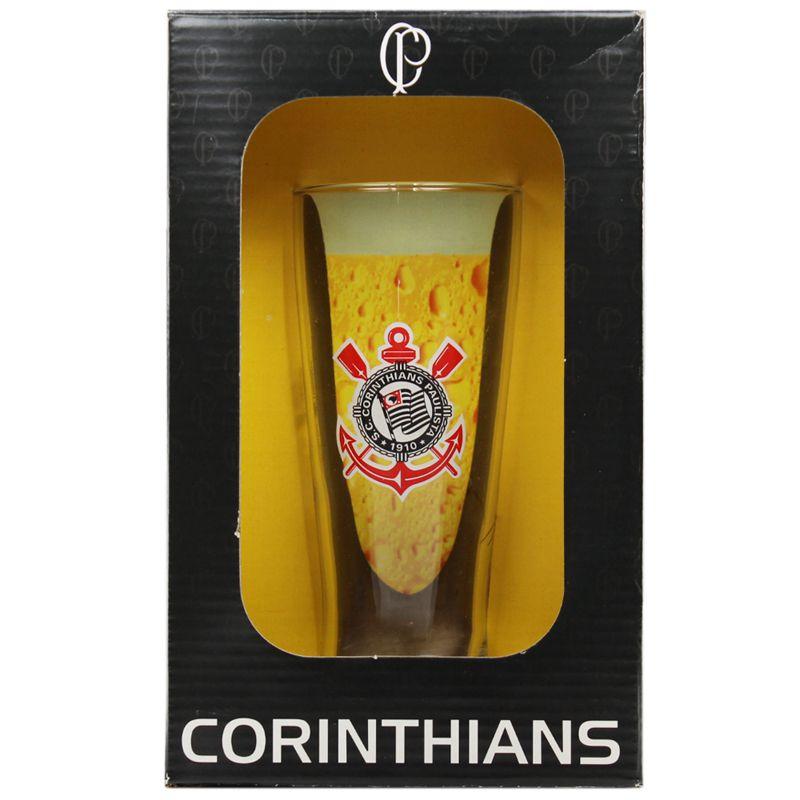 Copo Chopp do Corinthians 300 ml em Caixa Personalizada