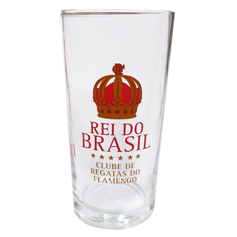 Copo Long Drink do Flamengo Rei do Brasil