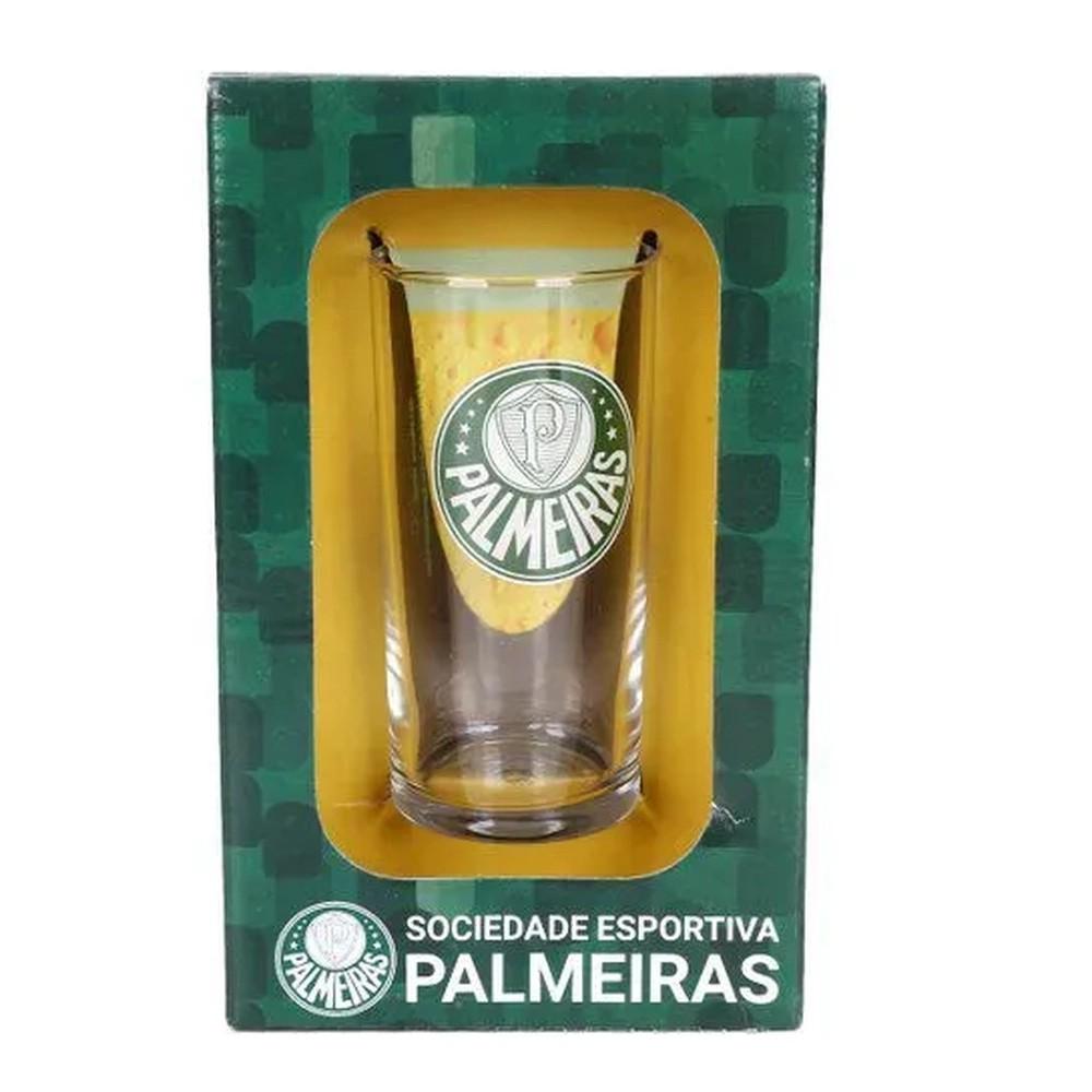 Copo Long Drink do Palmeiras 300 ml em Caixa Personalizada