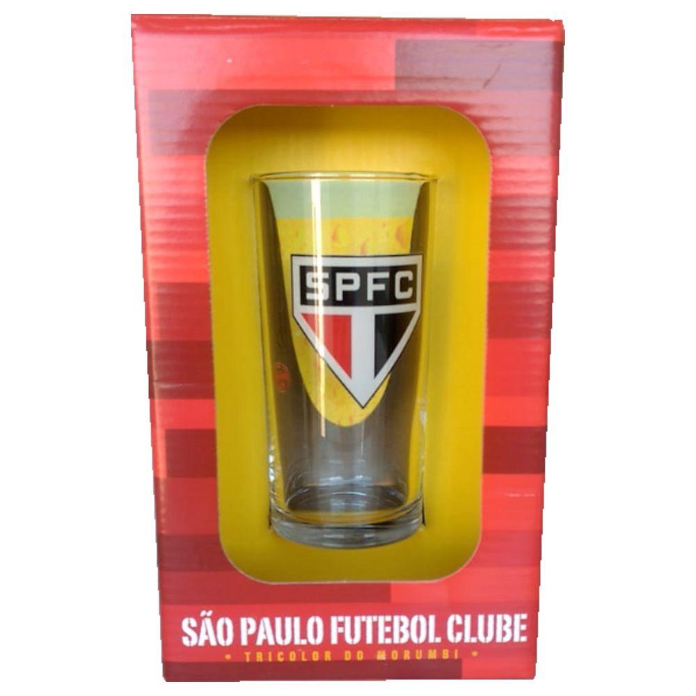 Copo Long Drink do São Paulo 300 ml em Caixa Personalizada