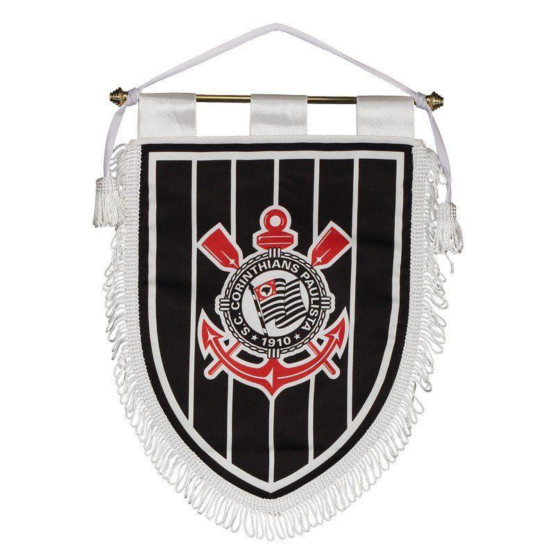 Flamula Oficial do Corinthians Preta