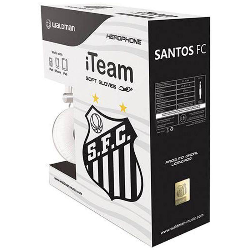 Fone de Ouvido do Santos Waldman Soft Gloves SG 10
