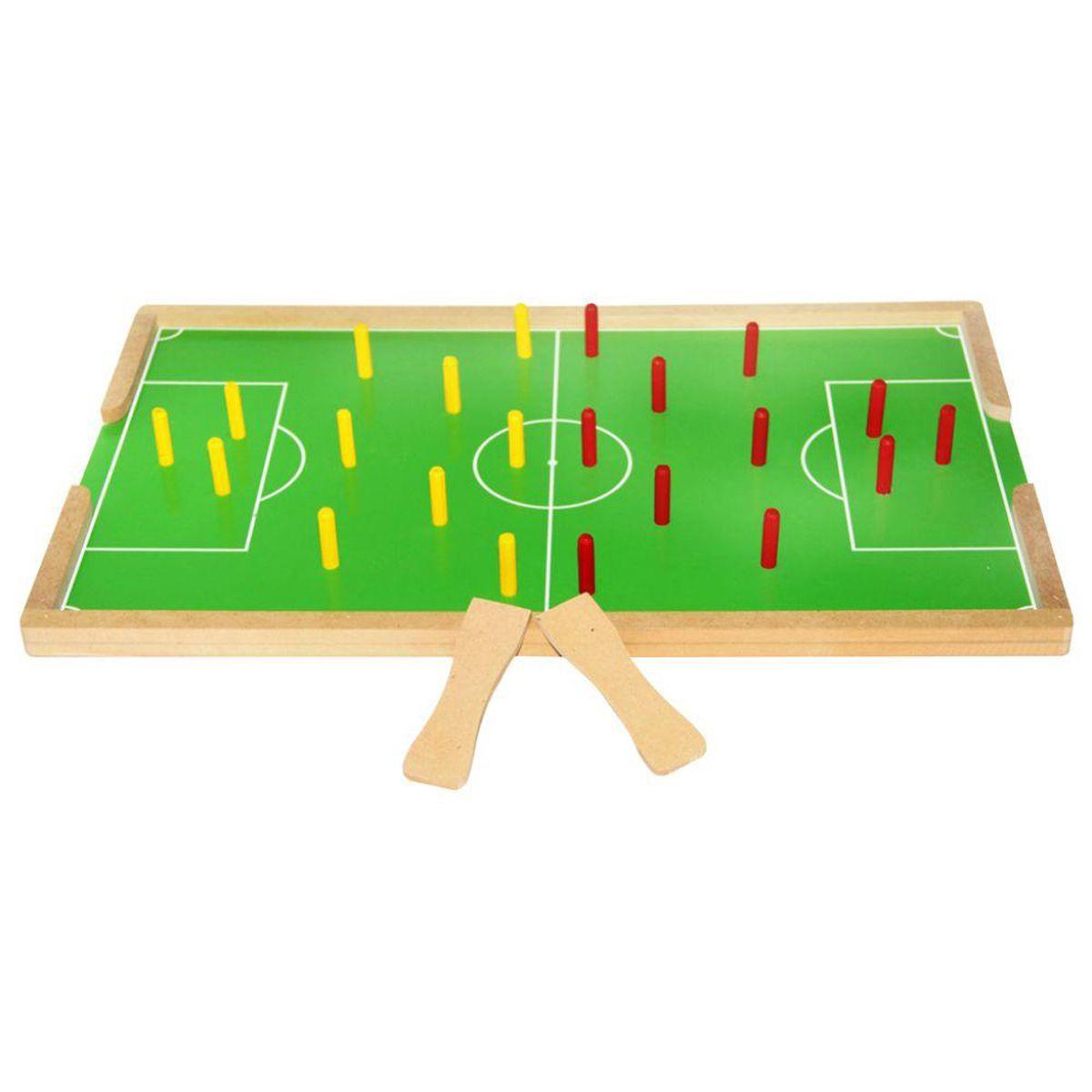 Futebol de Pinos em MDF Carlu
