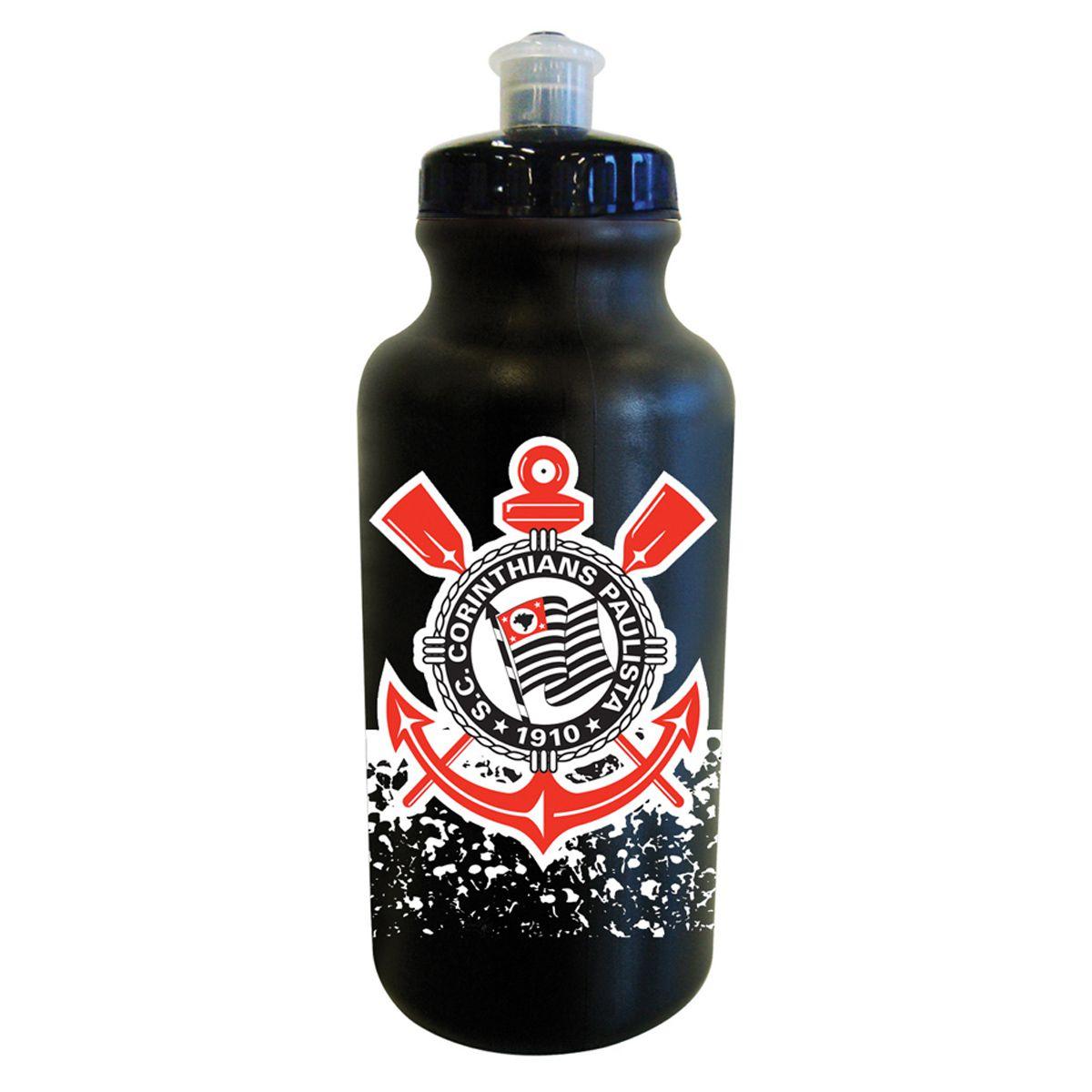 Garrafa Água Squeeze do Corinthians 500 ml Allmix