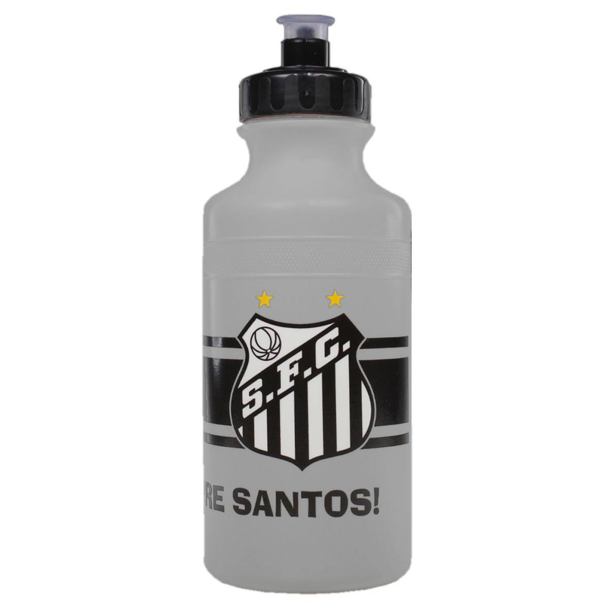 Garrafa de Água Squeeze do Santos 500 ml Allmix