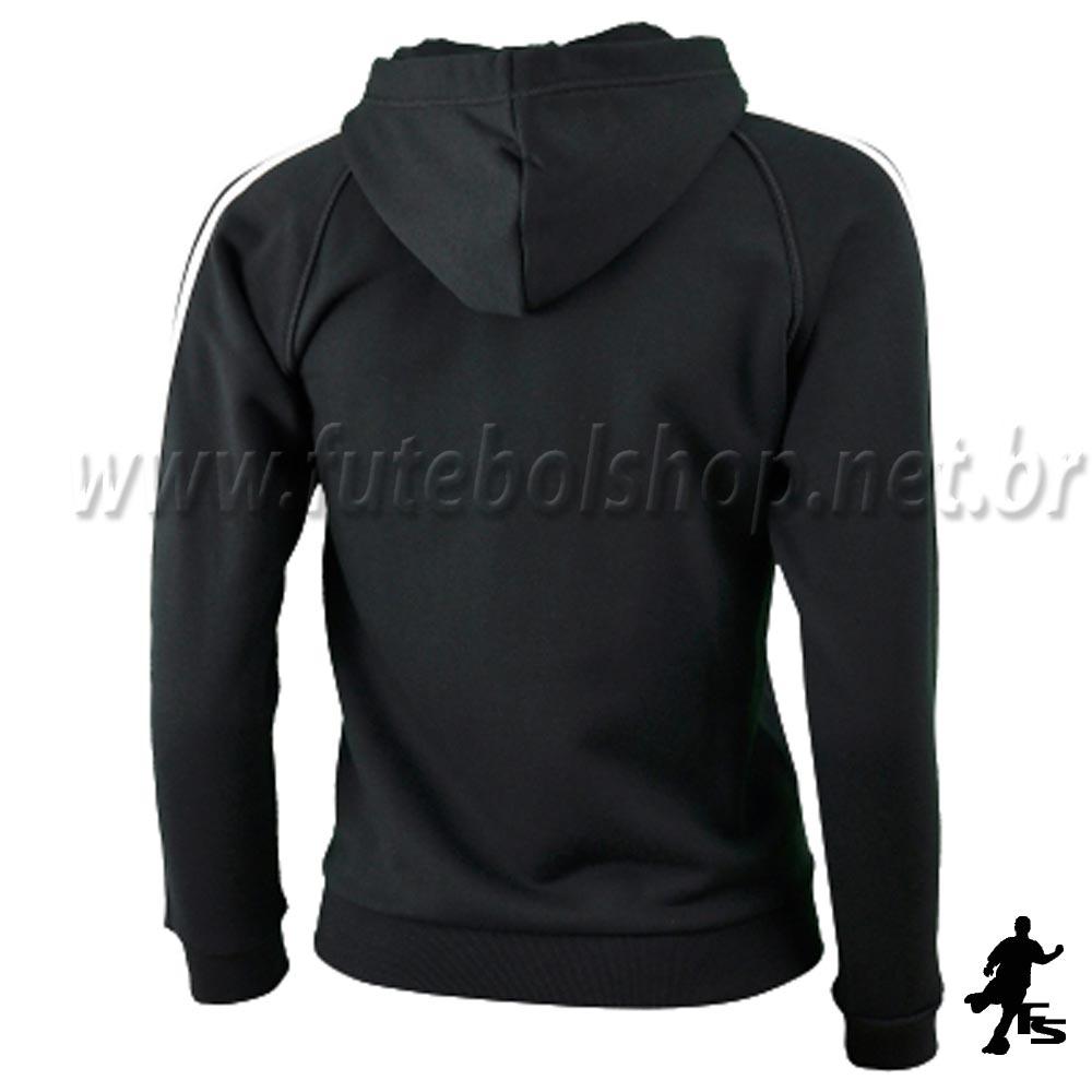 ... Jaqueta Adidas Capuz 3S ESS Kids Moletom - E15299 - FUTEBOL SHOP ... c0066f961709d