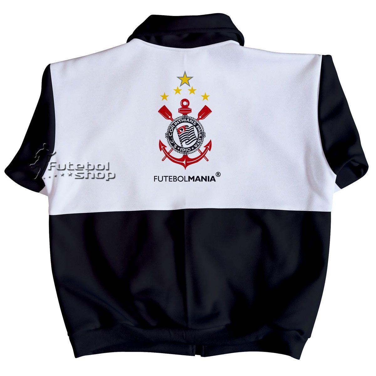 Jaqueta Infantil do Corinthians em Malha Esportiva - 224