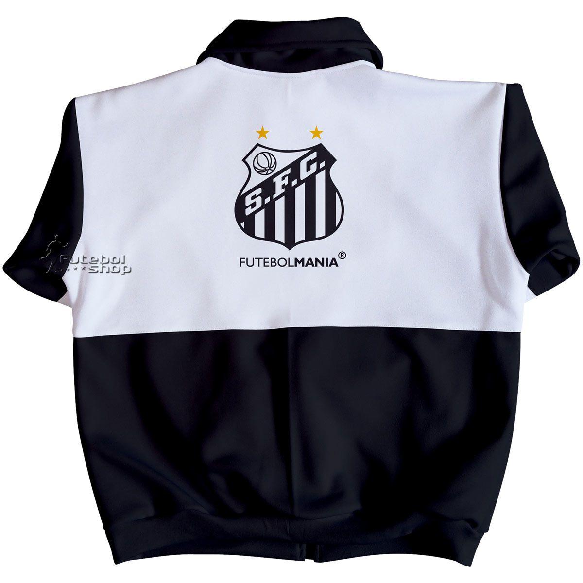 Jaqueta Infantil do Santos em Malha Esportiva - 224