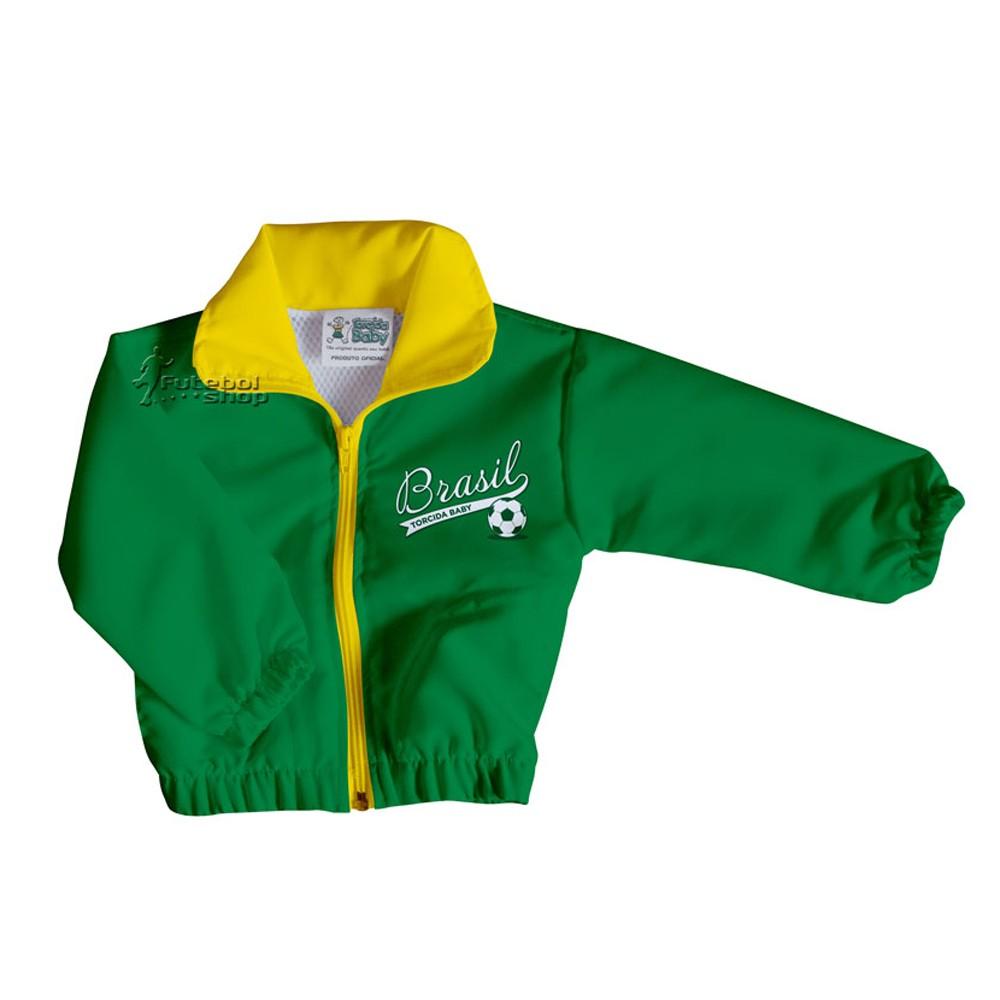 Jaqueta para Bebê do Brasil Torcida Baby - 040