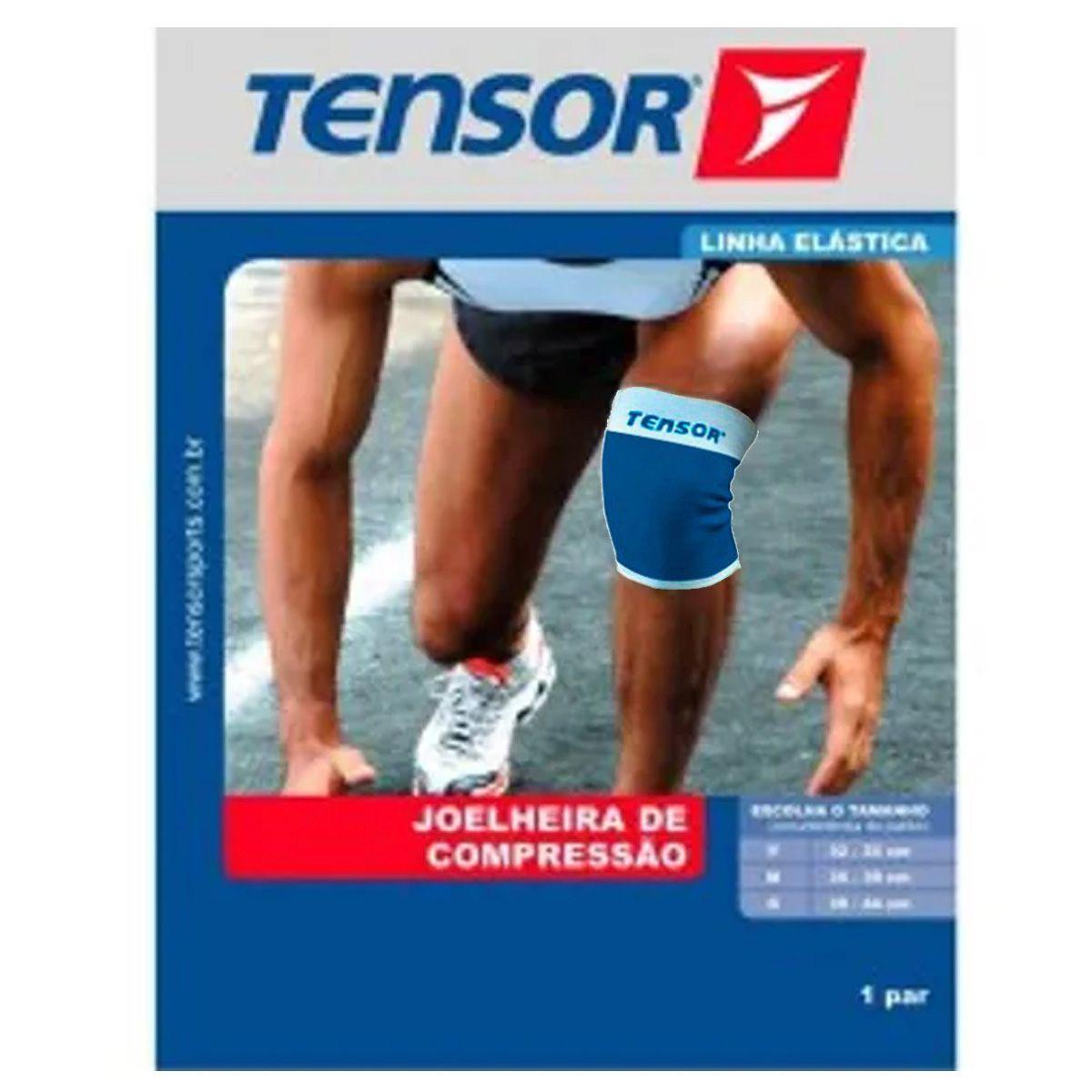 Joelheira de Compressão Tensor Azul - 6001