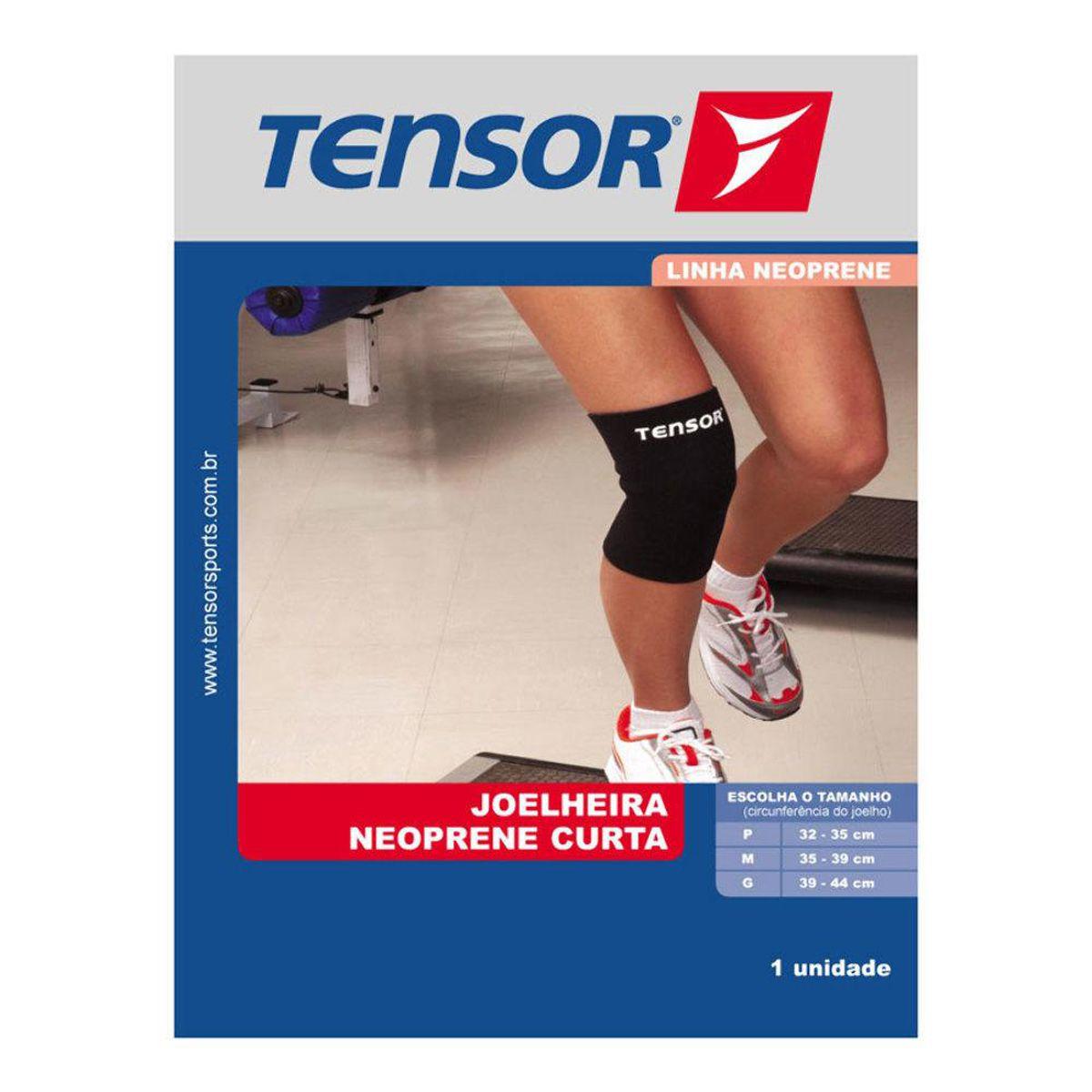 Joelheira Neoprene Curta Tensor - 8011