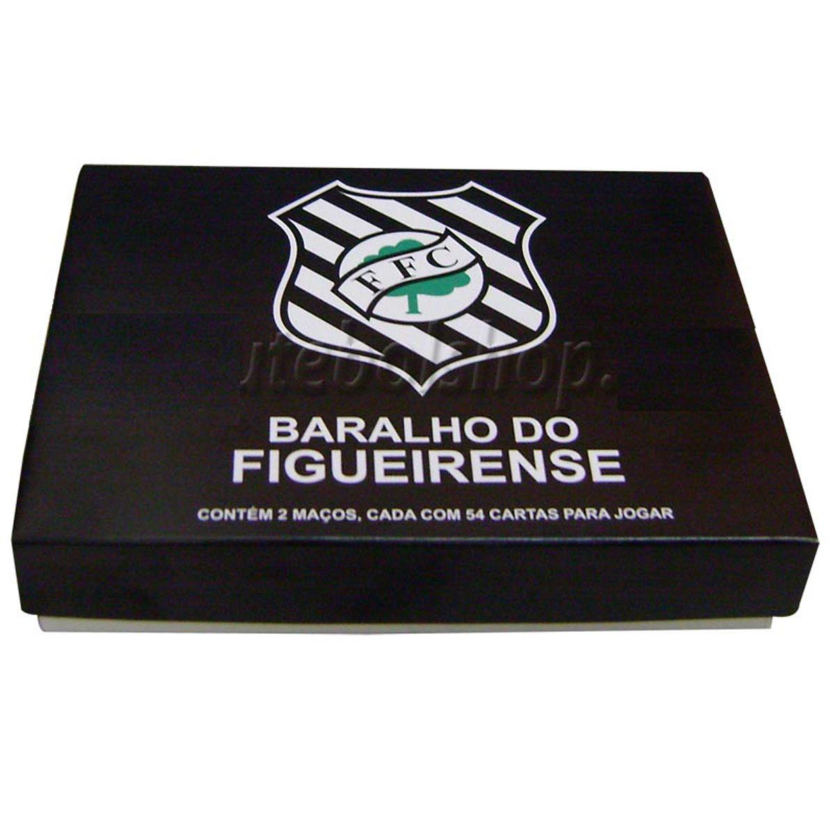 Jogo de Baralho Duplo do Figueirense