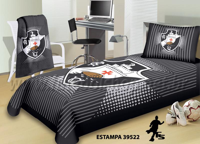 Jogo de Cama Solteiro Buettner Vasco da Gama - 39522
