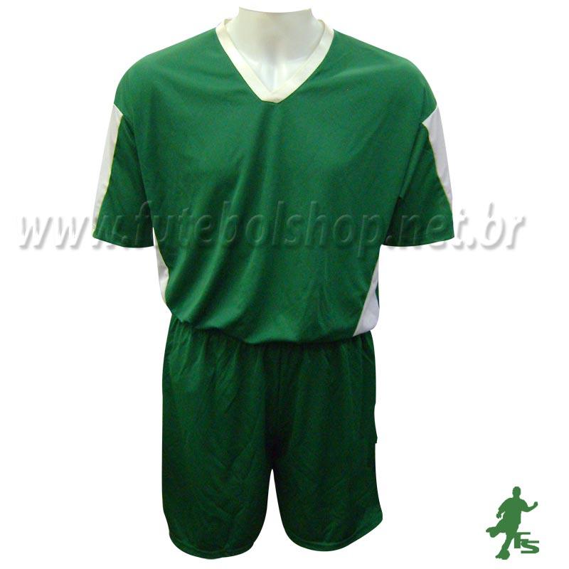 Jogo de Camisa Uniforme Kanxa Verde - 9 Conjuntos