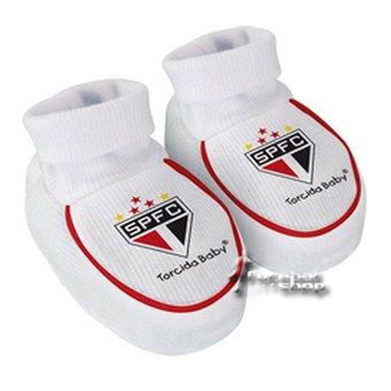 Kit 3 Peças Uniforme Bebê do São Paulo Longo Torcida Baby - 034