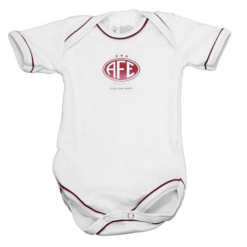 Kit Body + Pantufa para Bebê da Ferroviária Torcida Baby - AFE 033