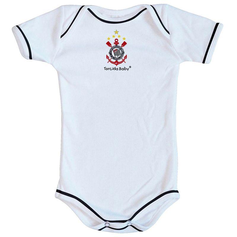 ... Kit Body + Pantufa para Bebê do Corinthians Torcida Baby - 033 - FUTEBOL  SHOP ... 840c233e32529
