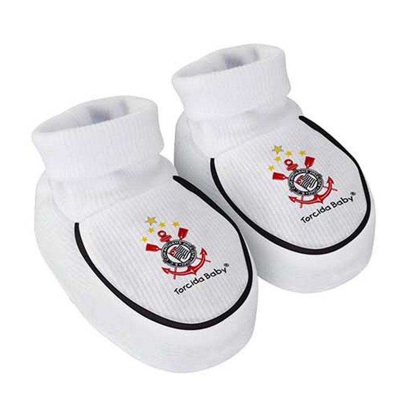 ... Kit Body + Pantufa para Bebê do Corinthians Torcida Baby - 033 - FUTEBOL  SHOP 20ed986d916ee