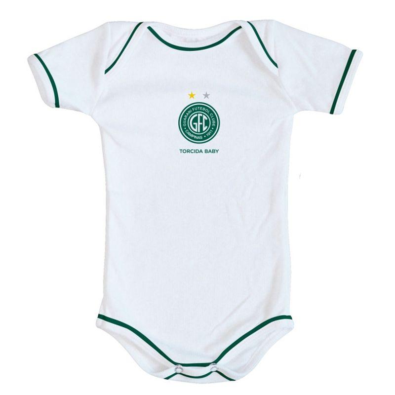 Kit Body + Pantufa para Bebê do Guarani FC Torcida Baby - 033