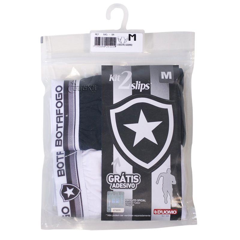 Kit C/ 2 Cuecas Slip Botafogo Duomo - 845
