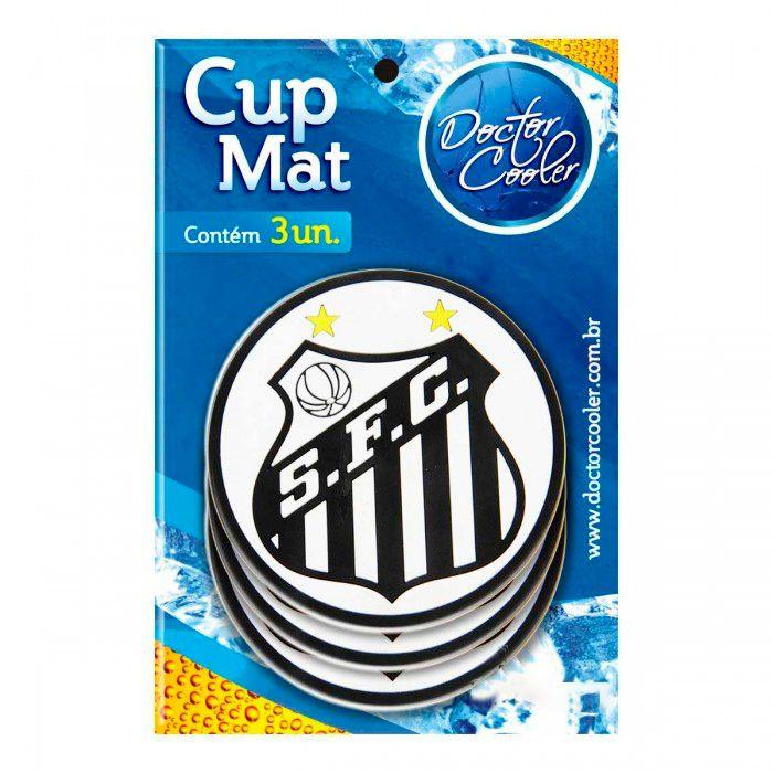Kit c/3 Suporte p/ Copo Santos - Cup Mat
