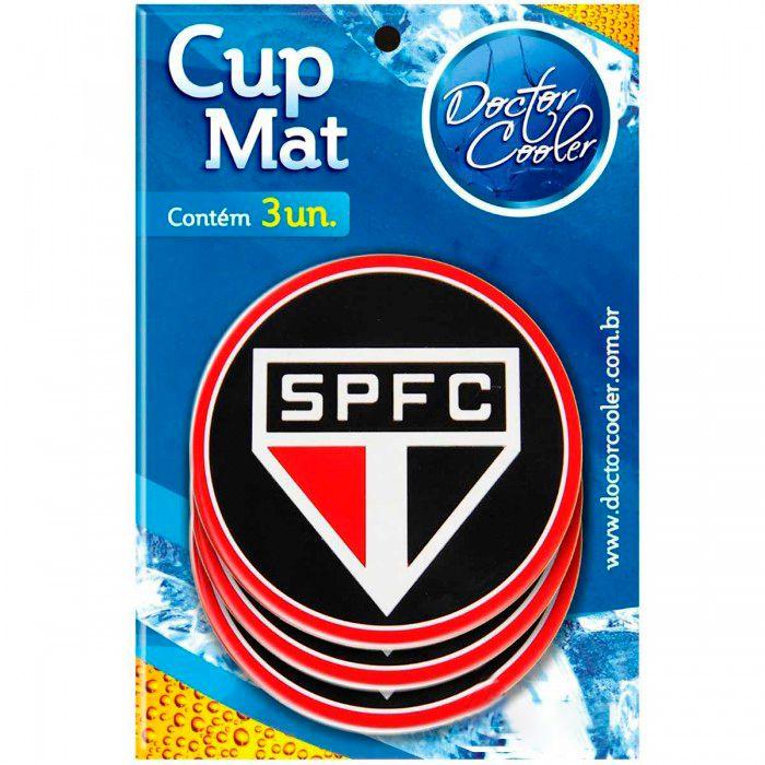 Kit c/3 Suporte p/ Copo São Paulo - Cup Mat