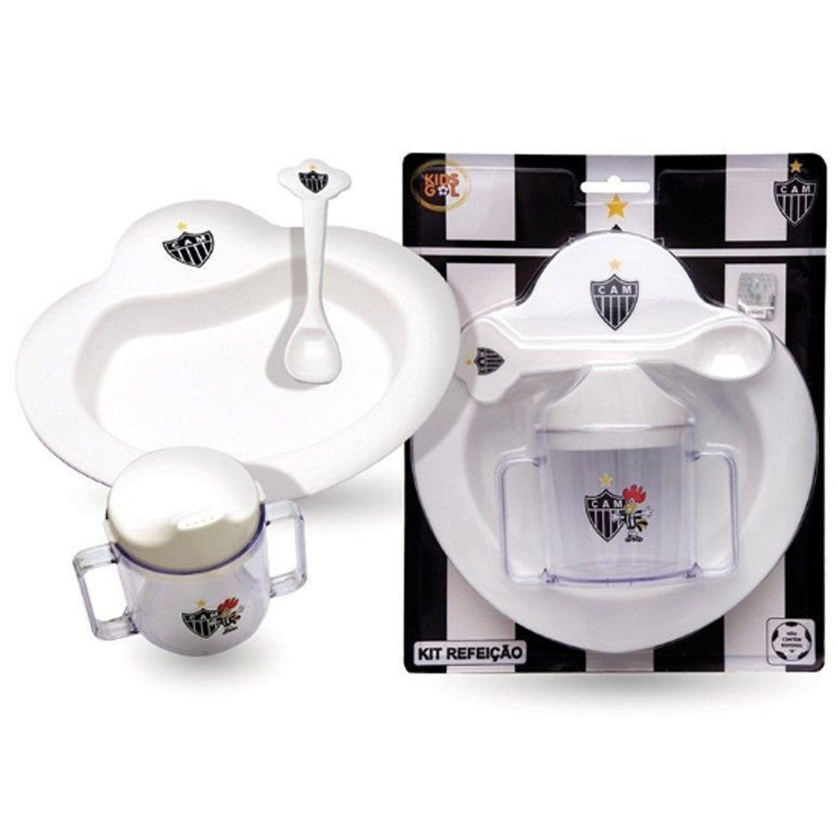 Kit Refeição Bebê do Atlético Mineiro