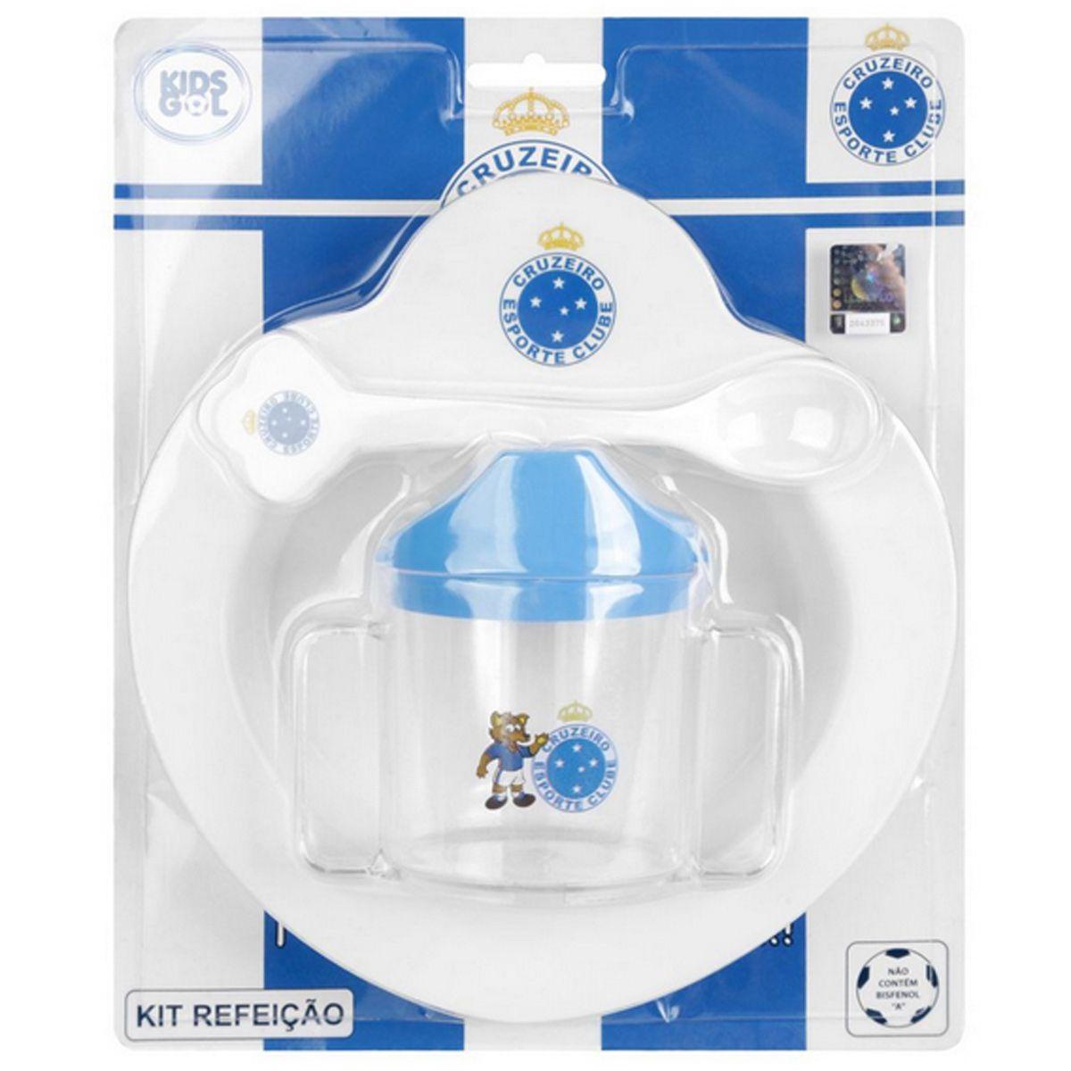 Kit Refeição Bebê do Cruzeiro