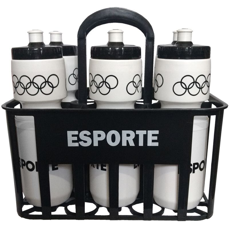 Kit Squeeze c/ Cesta Porta Garrafas Esporte