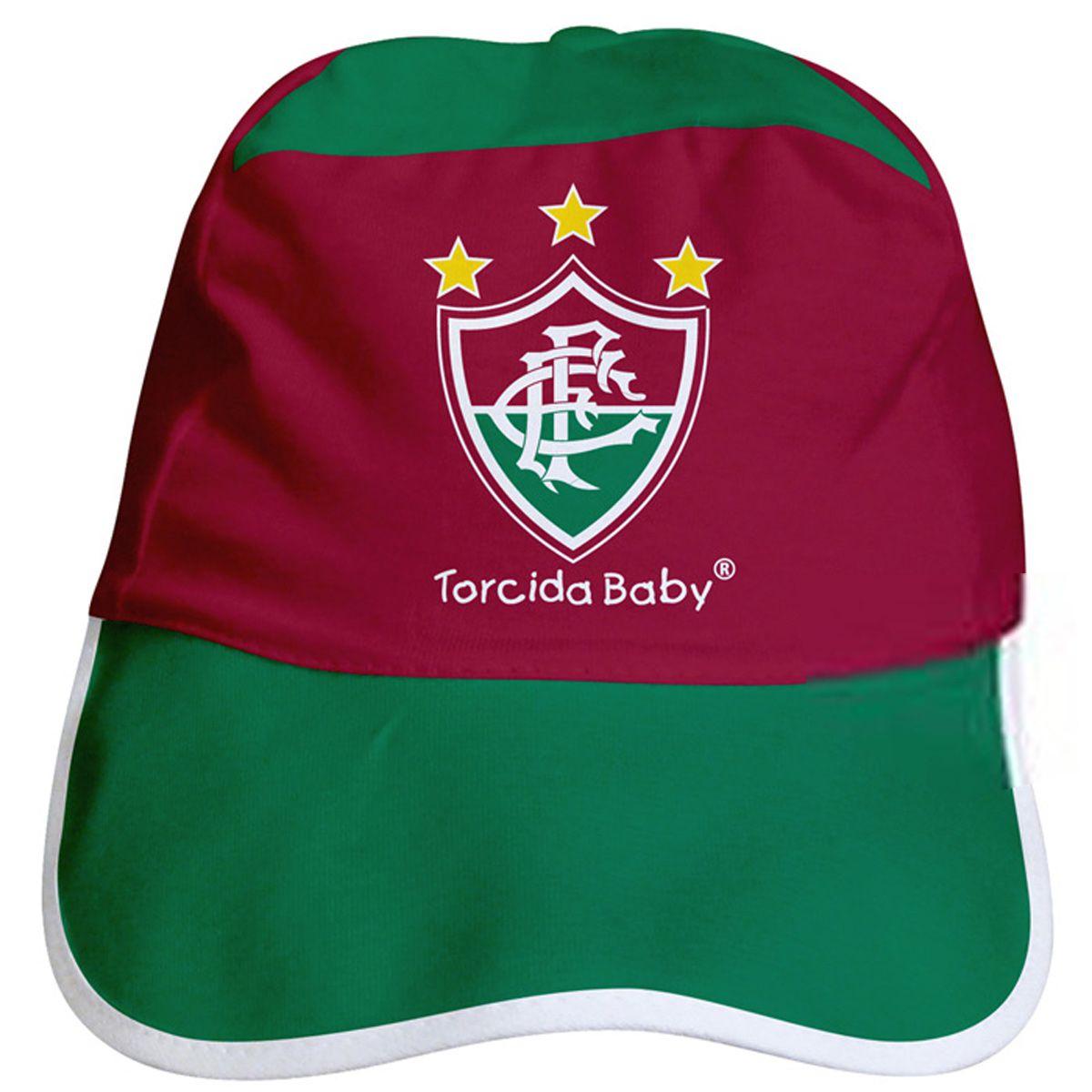 Kit Uniforme Bebê do Fluminense Torcida Baby - 015s