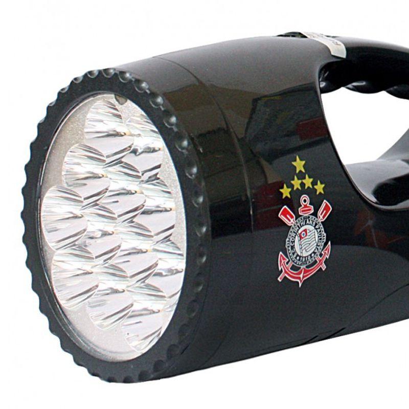 Lanterna Led - Luminária Recarregável do Corinthians
