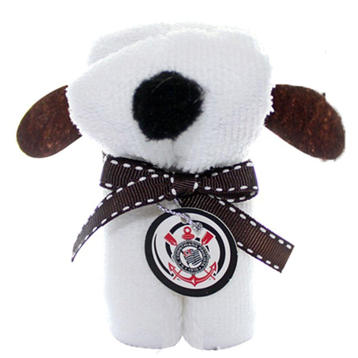 Lata Cofre + Toalha Cachorro do Corinthians - P056