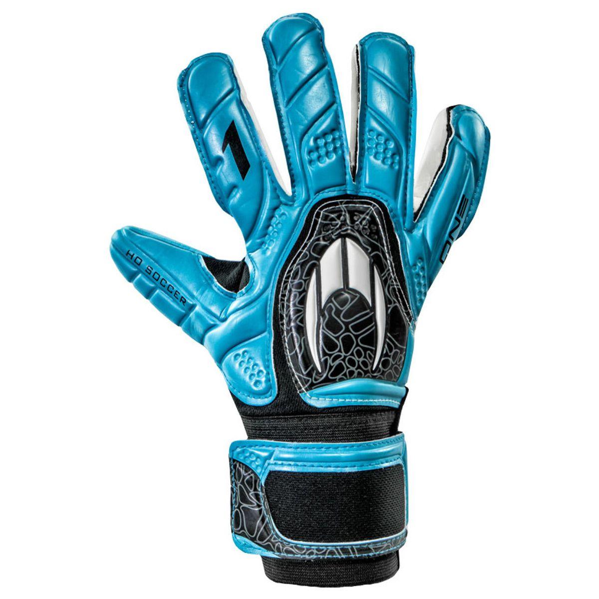 Luva Goleiro HO Soccer One Negative Blue 9138