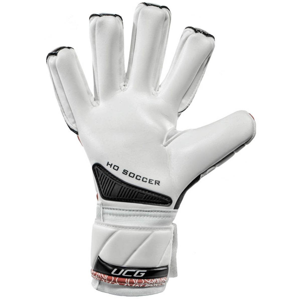 Luva Goleiro HO Soccer One Negative Intense Red 9132