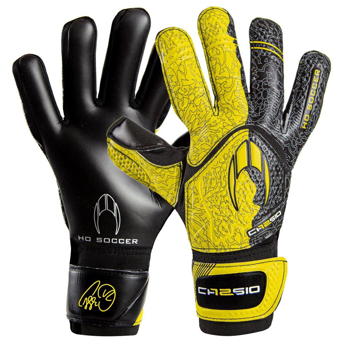 Luva HO Soccer Cassio Training Yellow 9976