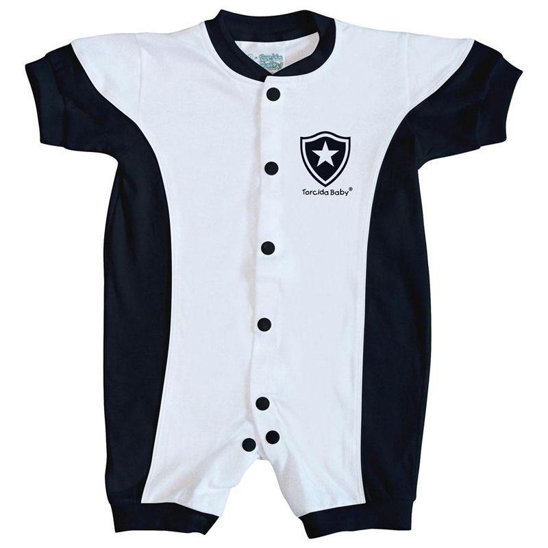 Macacão Curto Bebê Torcida Baby Botafogo - 005A