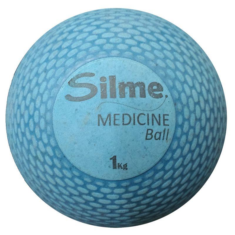 Medicine Ball de Borracha 1 Kg Silme