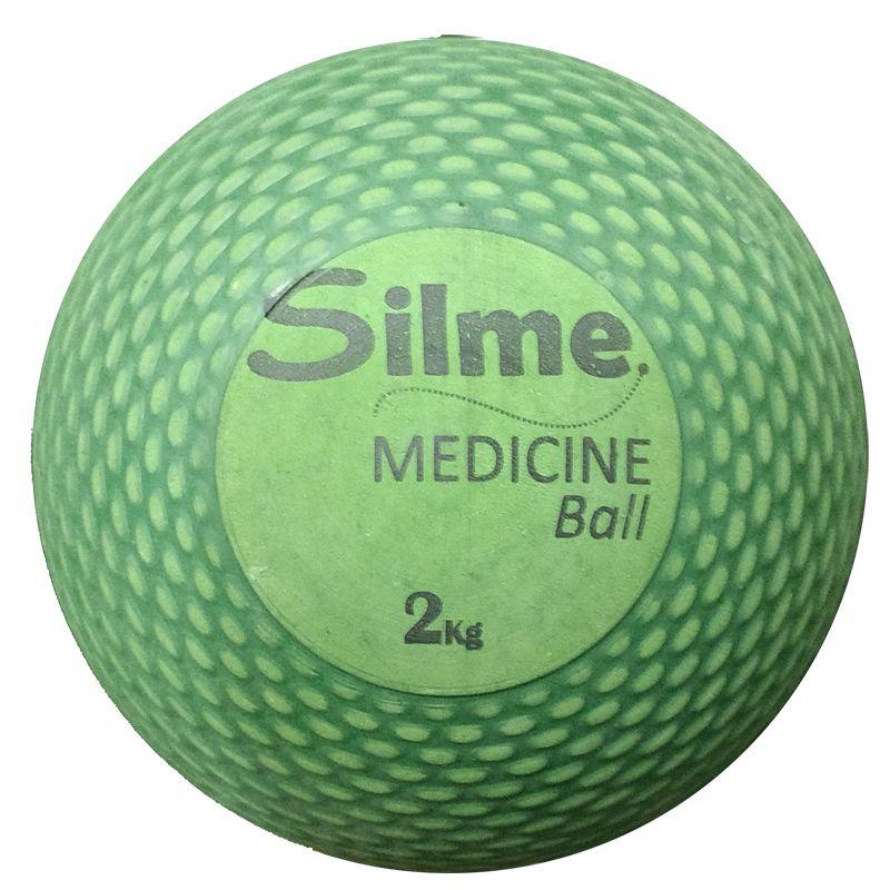 Medicine Ball de Borracha 2 Kg Silme