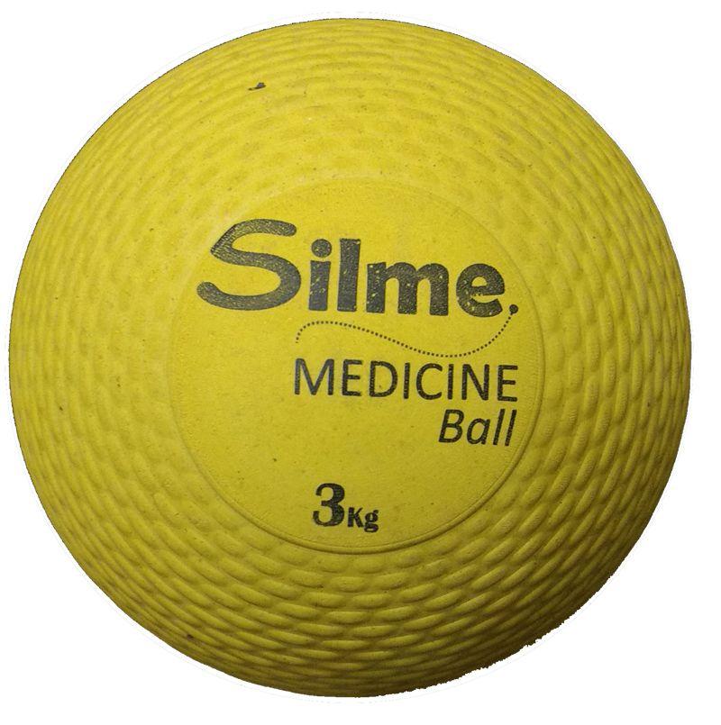 Medicine Ball de Borracha 3 Kg Silme