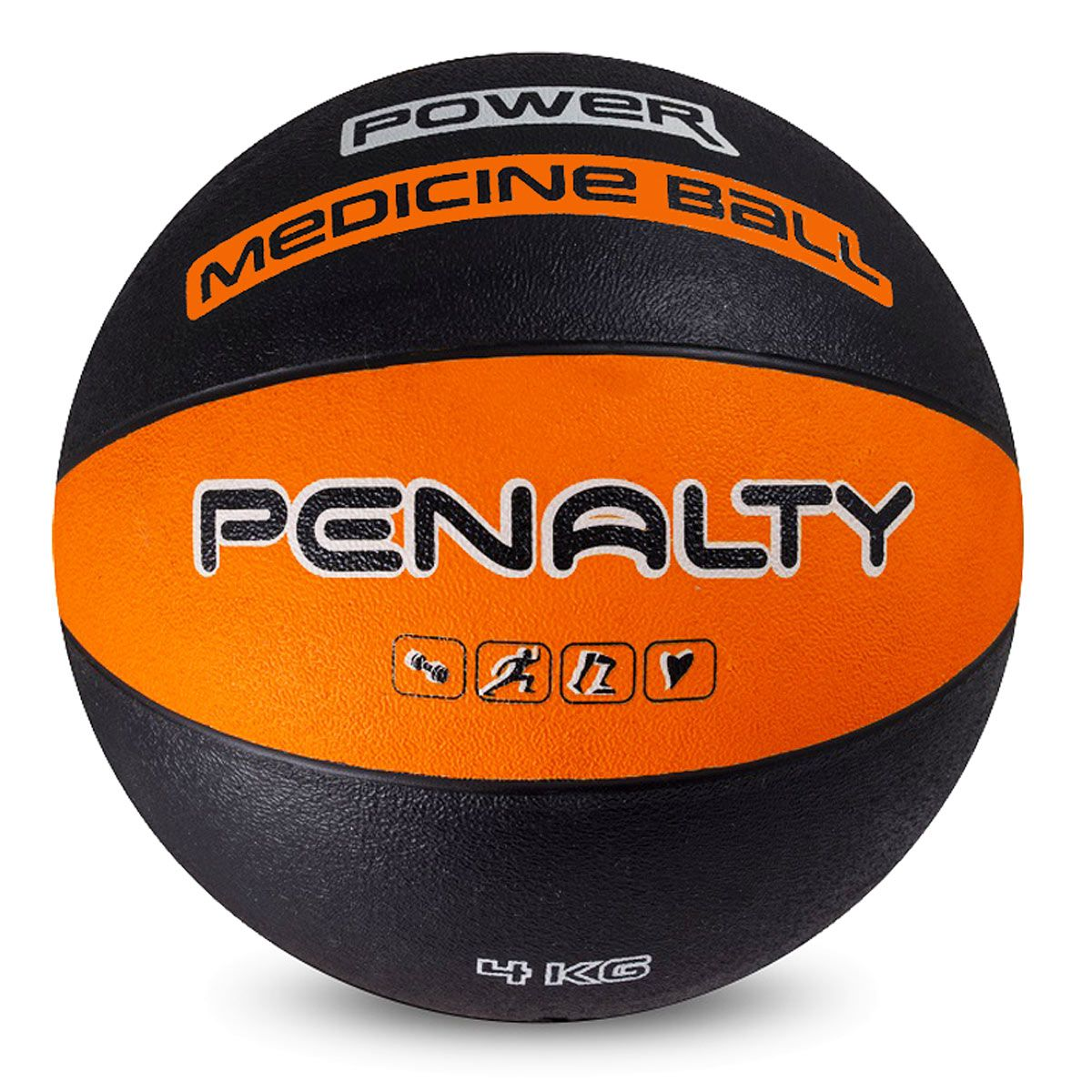 Medicine Ball de Borracha Penalty 4 Kg - 530263