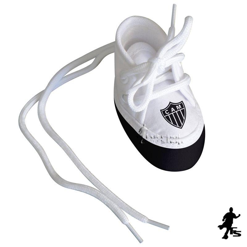 Mini Tênis do Atlético Mineiro (chaveiro / porta maternidade) - Torcida Baby 225