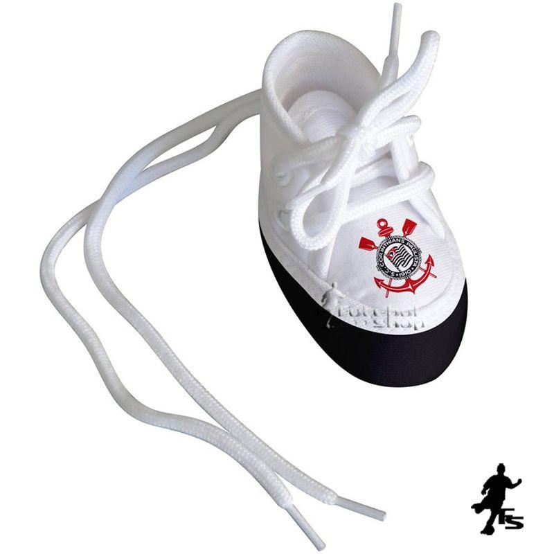 Mini Tênis do Corinthians (chaveiro / porta maternidade) - Torcida Baby 225