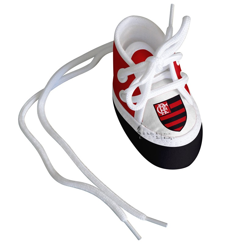 Mini Tênis do Flamengo (chaveiro / porta maternidade) - Torcida Baby 225