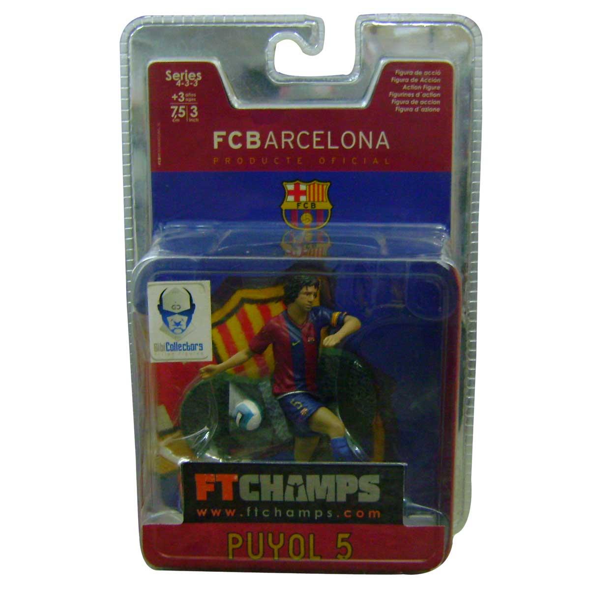Minicraque Caricatura do Puyol FC Barcelona - FTChamps
