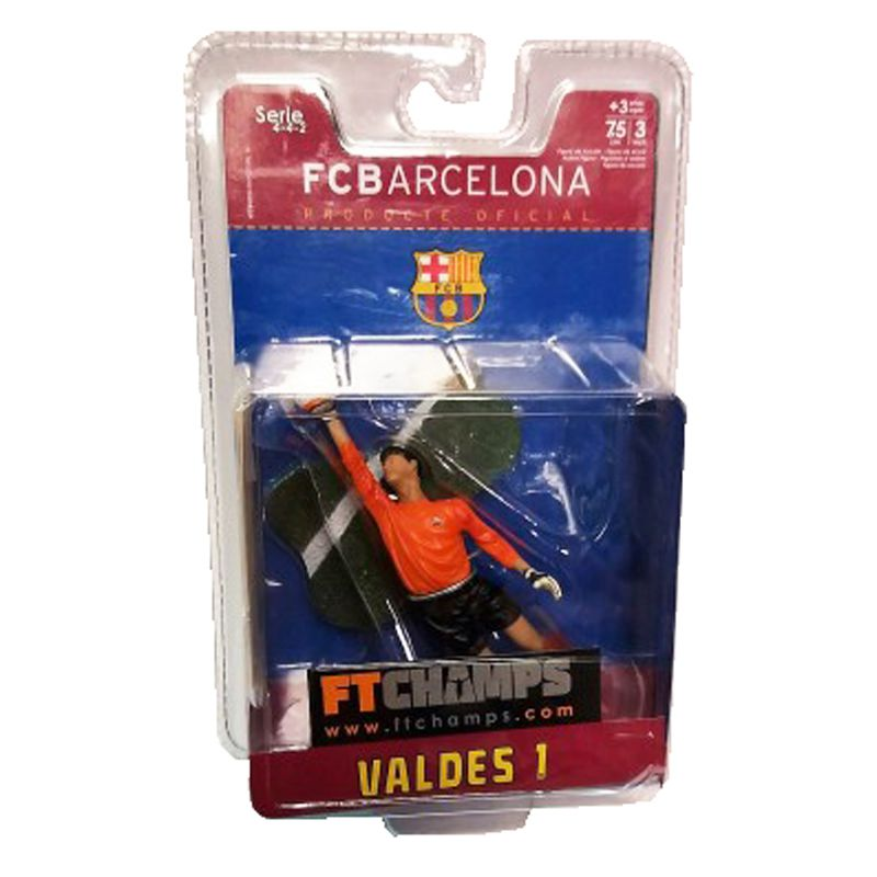 Minicraque Caricatura do Valdes 1 Barcelona - FTChamps